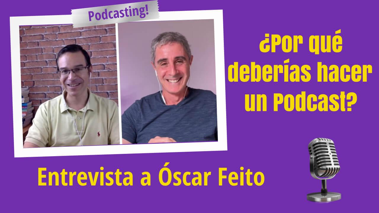 Por qué deberías hacer un podcast